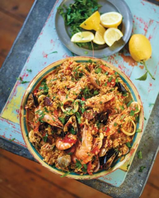 superb seafood paella | Jamie Oliver | Food | Jamie Oliver (UK)