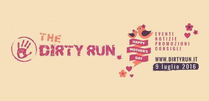 Promozione Dirty Run per la Festa della Mamma