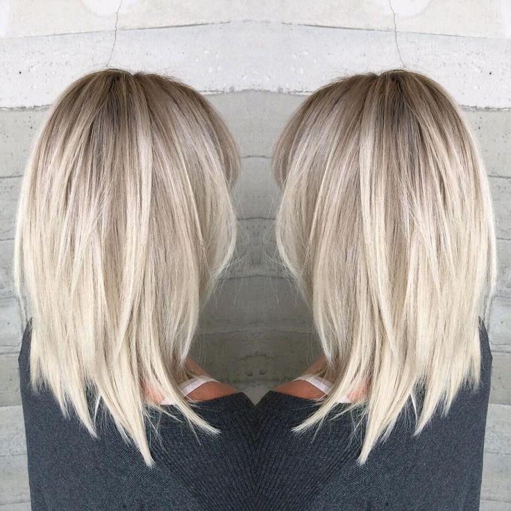 10 Stylish & Sweet Lob Haircut Ideas, Shoulder Length Hairstyles 2019 – Makeup Ideas