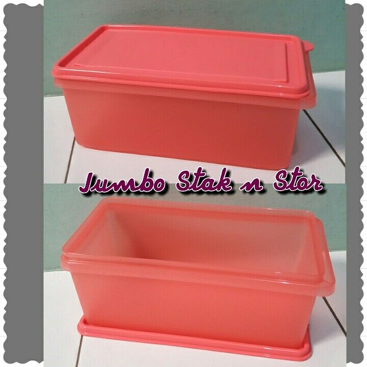 Guava jumbo stak n stor Kapsitas 2.7 L/27×23.8x11cm Price 158.000 Sale 33% off only 106.000 Harga per pcs ya  #jual #jualan #tupperwarecantik #tupperwareforsale #jualanonline #saleweekend #saletupperware #tupperwareforsale #tupperwarehemat #tupperwaretoples #tupperwaremurah #garagesale #tupperwarehargamember #wadahbotol #wadahmakanan #tupperwarelunchset #tupperwareoverseas #specialtupperware #princessyahrini #savetupperware #diskontupperware #tupperwareforyou #diskon #promotupperware…