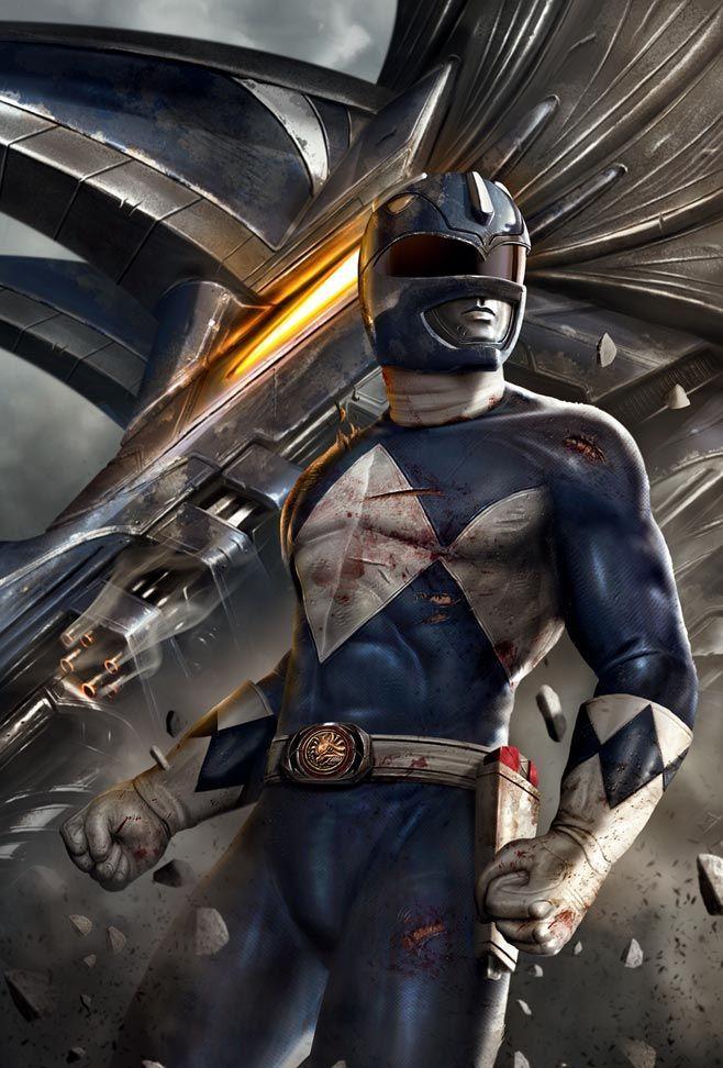 Mighty Morphin Power Rangers: Blue Ranger
