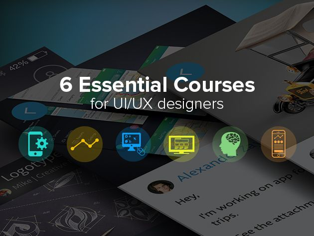 The UI/UX Designer Bundle - 6 eCourses & 34+ Hours Of UX Training To Help You Delight Your Users!