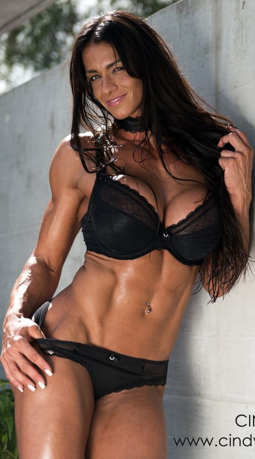 Womenbody builders in their panties