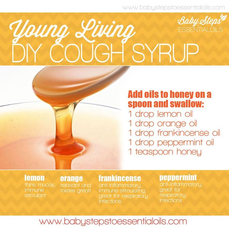 Young Living Essential Oils: Cough Syrup