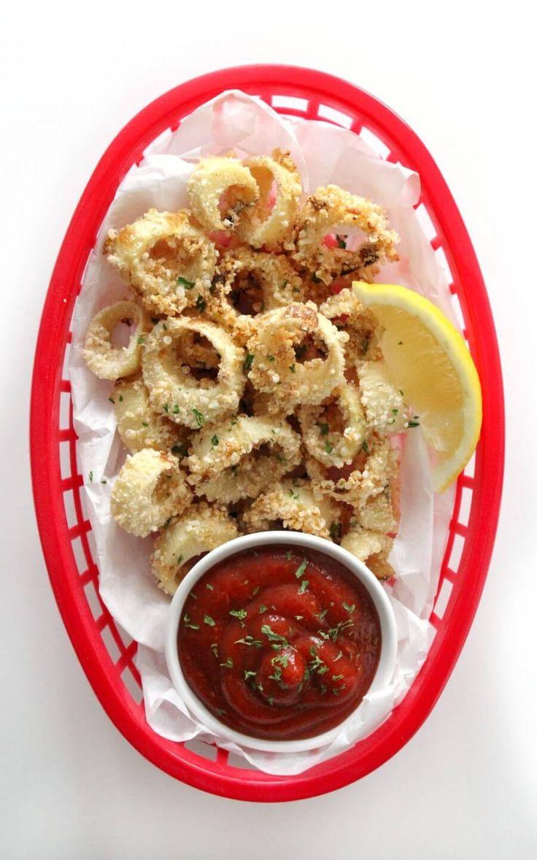 Air Fryer Vegan Calamari (GlutenFree, AllergyFree