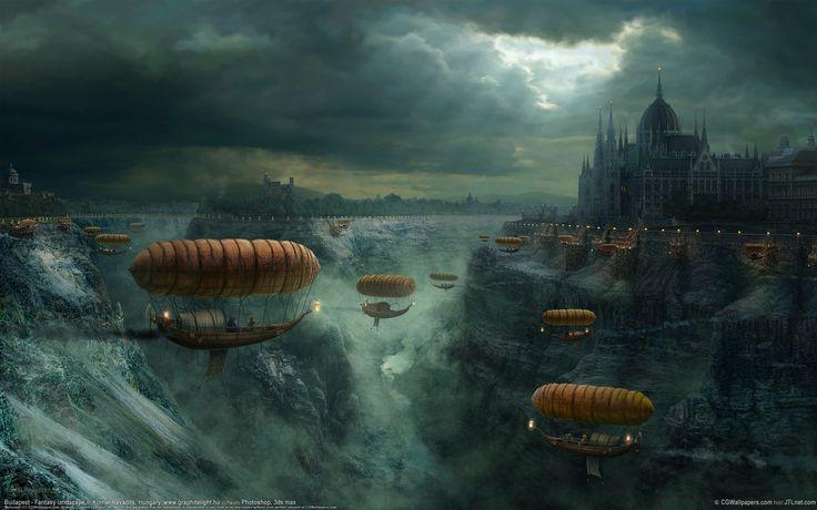 fantasy dreamscape desktop wallpapers collection