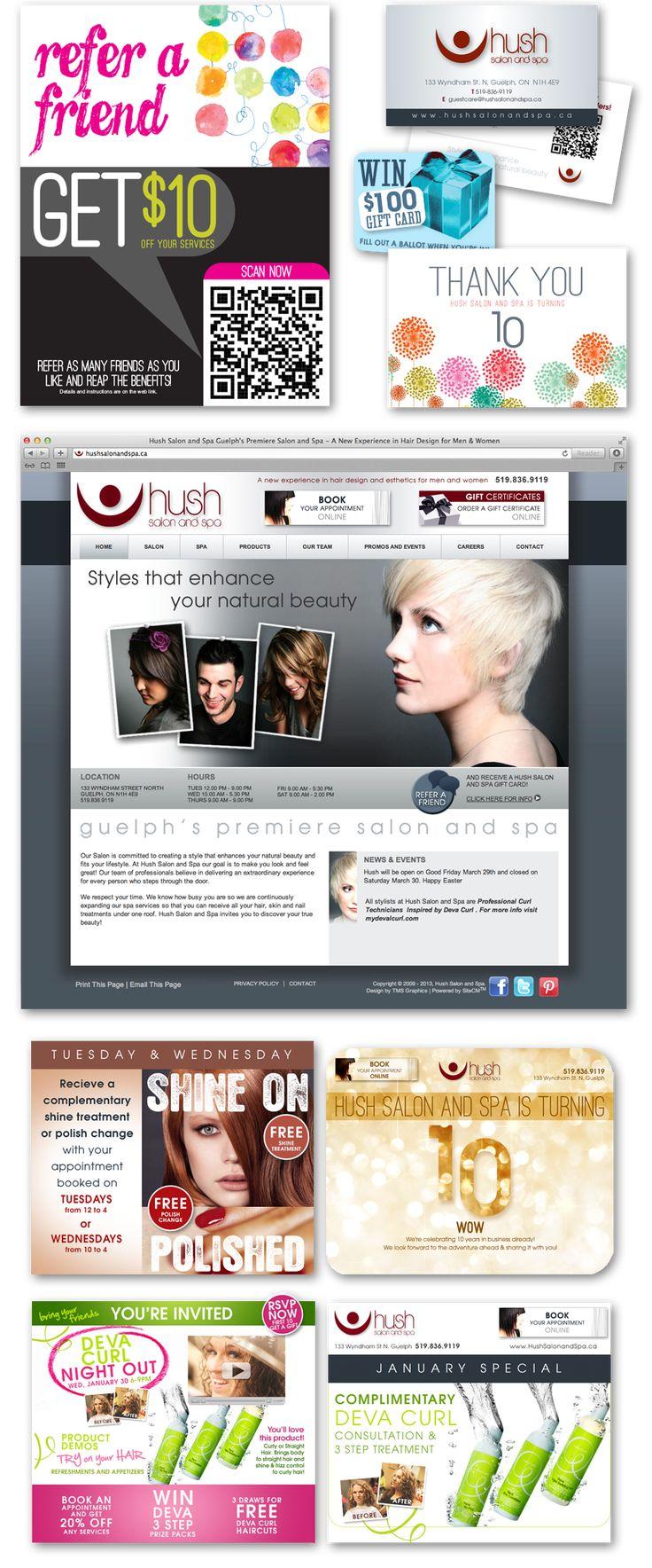 49 best tms featured work images on pinterest design - Salon marketing digital ...