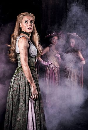 LES MISÉRABLES 30th Anniversary Postcards. Celinde Schoenmaker as 'Fantine'.