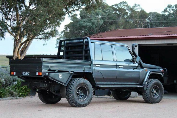 Sweet look Landcruiser!