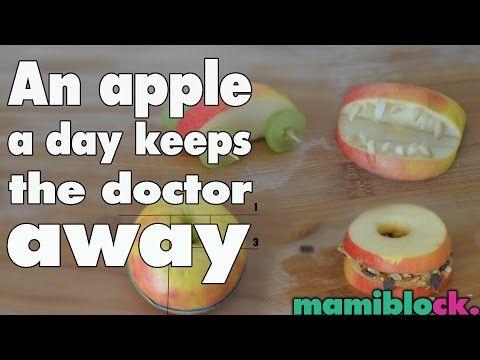 4 Apple Hacks   mamiblock kiDchen - Der Mami Blog - YouTube