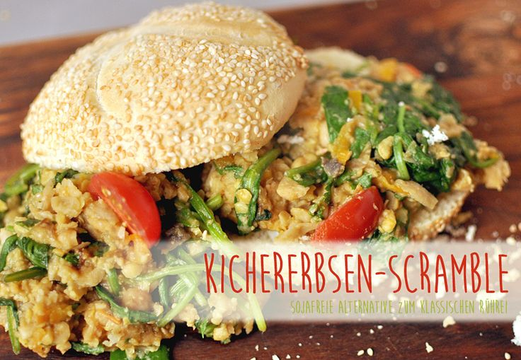 Chickpea Scramble oder auch Kichererbsen Scramble ist eine sojafreie Alternative zum klassischen Rührei, ein WW-Sattmacher, low-carb, vegan und lecker!