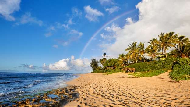 Oahu, Hawaii: Hawaii Magazine named Sunset Beach one of the best Hawaiian places to watch the sunset — and clearly, it's one of the best deals on the island.