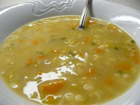 Babiččina praženka s drobením: Na másle opražíme kolečka mrkve a pórku, kousky celeru a plátky česneku. Osolíme, opepříme, okmínujeme a zasypeme hladkou moukou. Řádně...