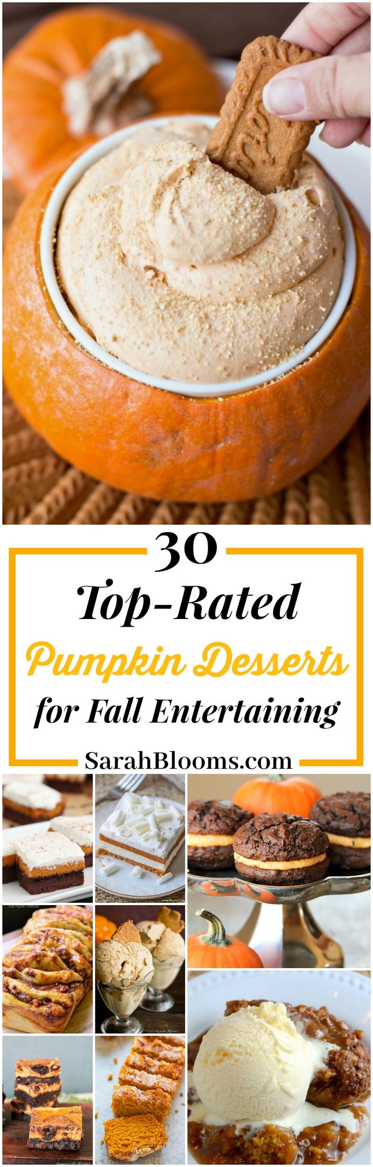 30 Top-Rated Pumpkin Desserts