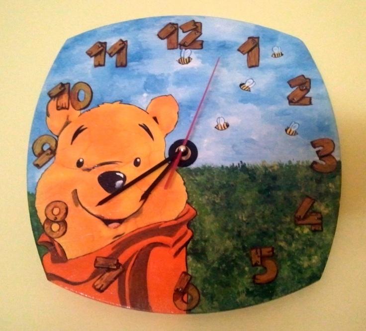 La Girandola Creativa: Orologio Winnie the Pooh
