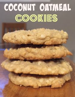 Coconut Oatmeal Cookies - delicious and easy to make.
