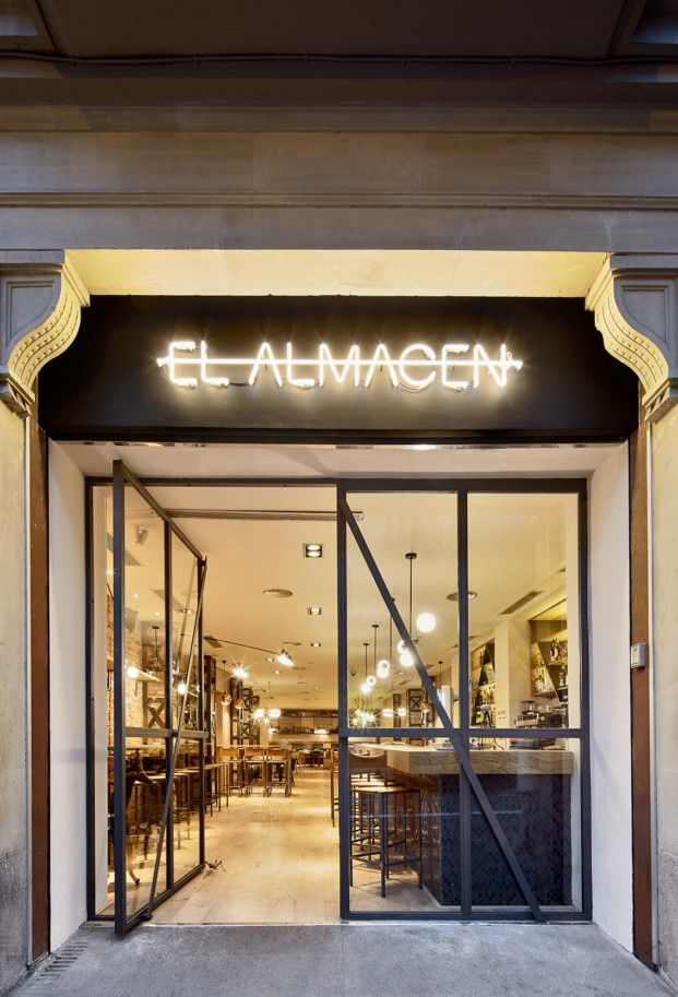 M s de 25 ideas incre bles sobre letreros de las tiendas de caf en pinterest - Restaurante 7 puertas barcelona ...