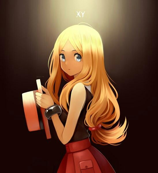 *EDITED* Isn't this from pokemon? Serena?