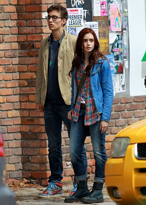 clothes from city of bones movie | ... Rabbit Hole: The Mortal Instruments: City of Bones Movie First Photos