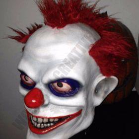 Clowki the Evil Clown Mask 3/4 head Joker Jester Killer Insane Psycho