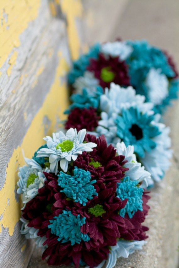 1000 Ideas About Teal Wedding Flowers On Pinterest Teal