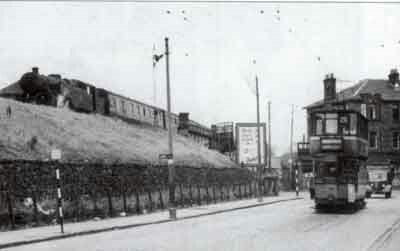 At burnside station 1955