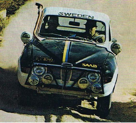 Saab 96 V4 in Baja 1000, 1970.: