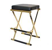 MODERN STOOL|  luxury black stool | www.bocadolobo.com/ #luxuryfurniture #designfurniture