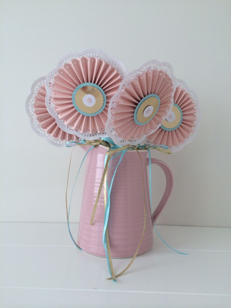 Rosette Wands - Party Favours by Sweet Soirees {www.sweet-soirees.com.au}