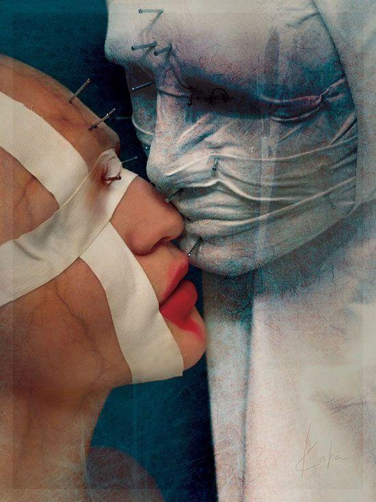 A assustadora arte surreal de Karina Marandjian