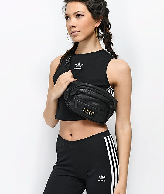 9a179a88c121 adidas National Black Waist Pack in 2019