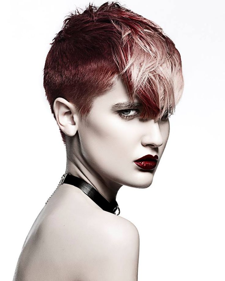 Colors!    #Hair: Paul Stafford and Amy Cartwright    Visto en Revista Coiffure Professionnelle