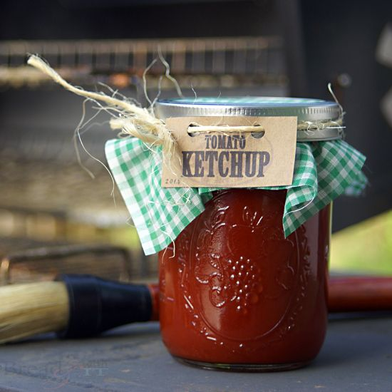 how to make ketchup without sugar