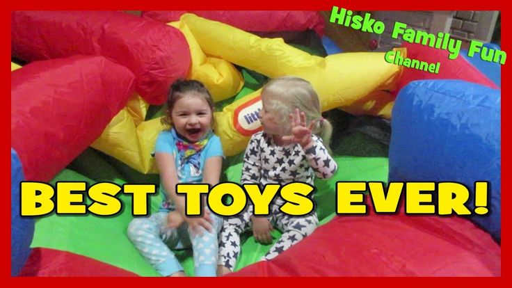 SHE GOT A BOUNCY CASTLE & TRAMPOLINE! BEST TOYS EVER! Happy Family Fun Vlog