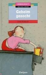 Leesplein Ouders en professionals- Geheim gezocht Schrijver: Dirk Nielandt Illustrator: Paula Gerritsen  Kato praat altijd haar mond voorbij en daarom neemt niemand haar in vertrouwen. Om toch een geheim te hebben, leest ze stiekem in het dagboek van haar beste vriendin. Toch zit het haar helemaal niet lekker! Lees ook de andere delen uit de serie 'Zoeklicht'. (B)  Leeftijd: 9-12 Uitgever: Zwijsen Verschenen: 2003 AVI-M4 / CLIB-3 ISBN: 9789027648235