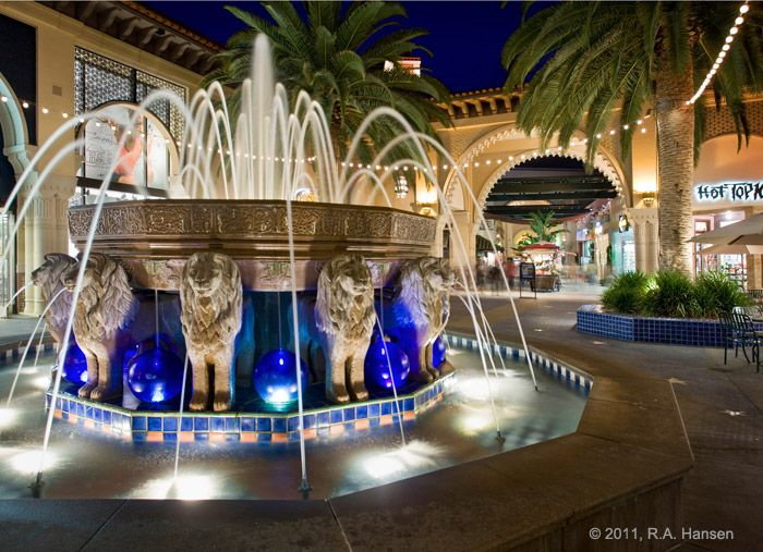 Irvine Spectrum - Orange County, California:  One of my fave places to shop and eat when visiting our West Coast family & friends