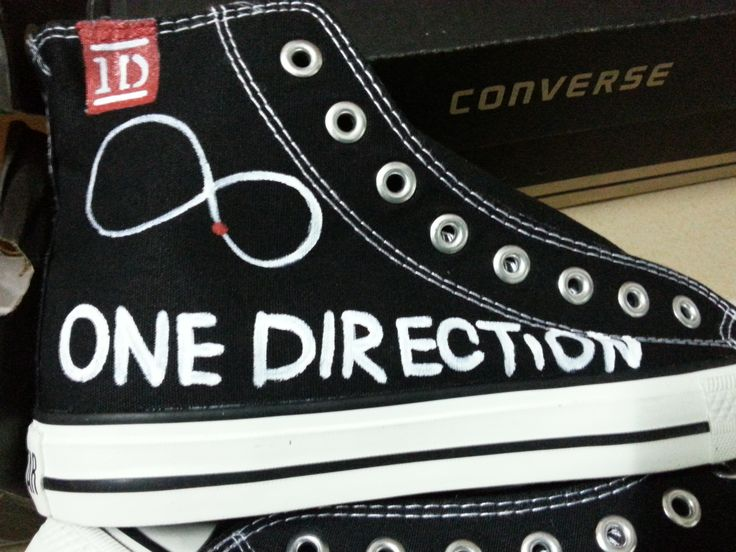 one direction shoes high top painted canvas shoes high top