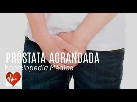 próstata agrandada síntomas
