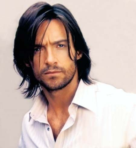 A Very Sexy Hugh Jackman with Long Hair  (Love It!)