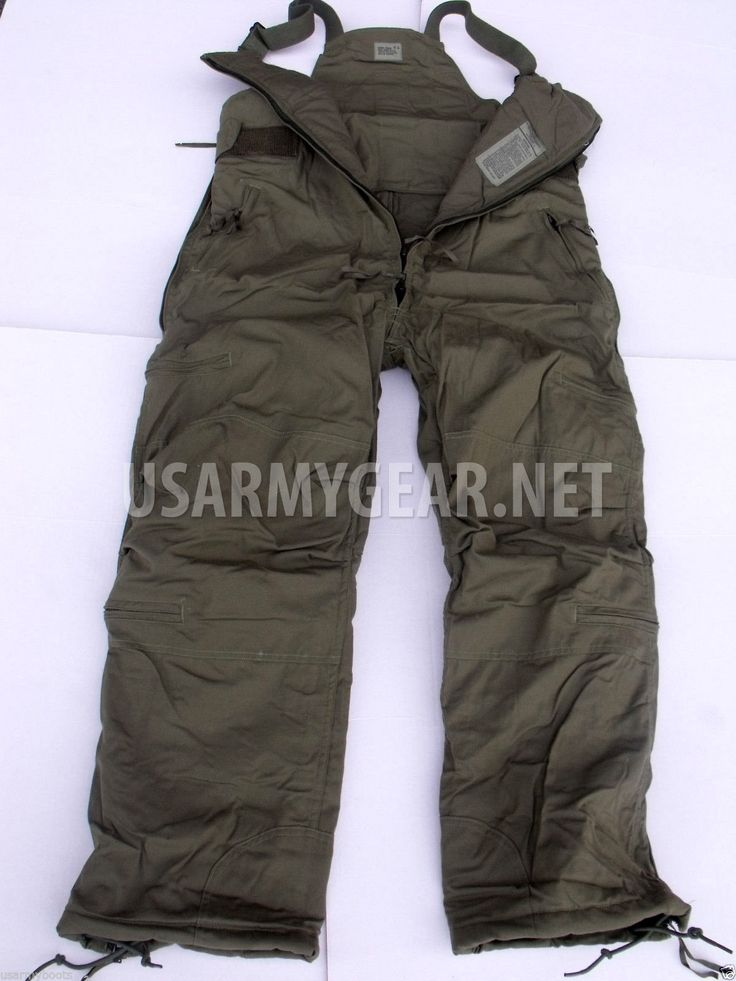 Us Army Extreme Cold Weather High Quality Pants Overall Gear