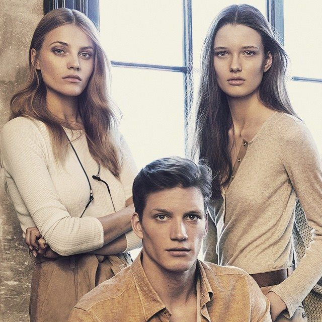 ALICJA TUBILEWICZ #miss polski together with Anna Jagodzińska Massimo Dutti NYC Campaign. #model #NeeStageModels #fashion #beauty