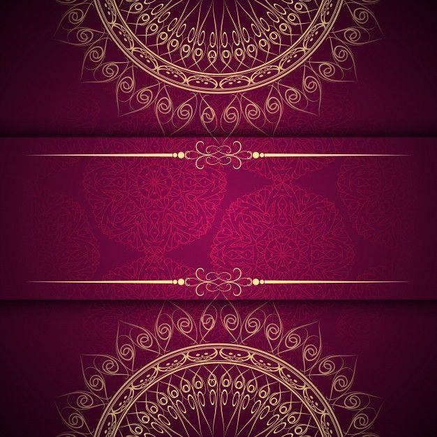Download Abstract Beautiful Mandala Design Background For Free Mandala Design Wedding Invitation Background Invitation Background