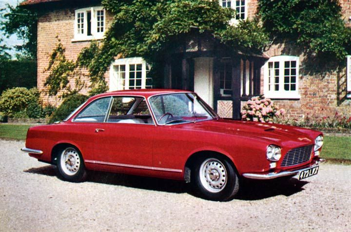 1960 Gordon-Keeble GT Prototype (Bertone)