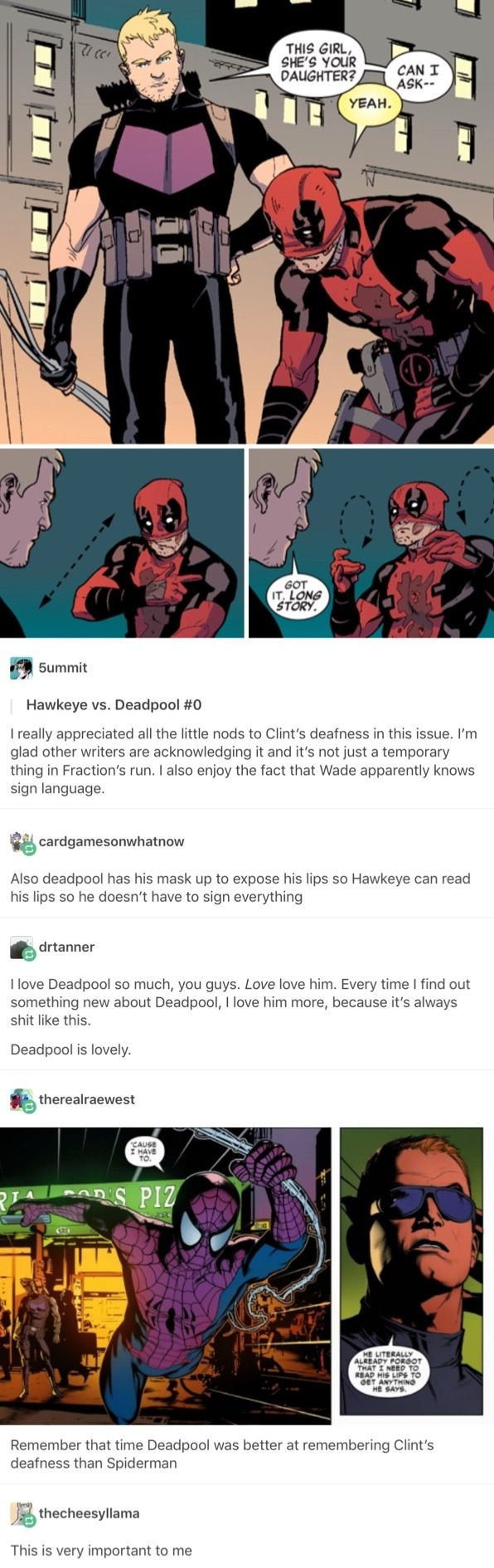 There are so many reasons to love Deadpool and this is just one of them.