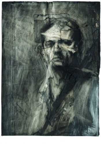 Find out more about Frank Auerbach, Self-portrait by the artist