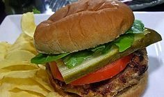 Easy Juicy Turkey Burgers Recipe | Divas Can Cook! Best turkey burgers I've ever had!