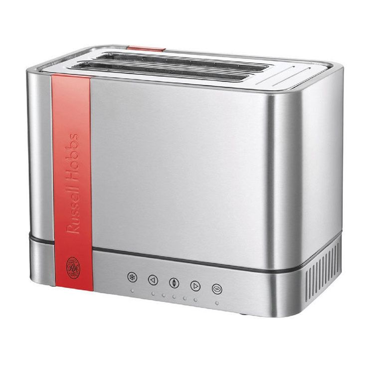 Russell Hobbs 18502 56 Steel Touch Mondrian Design 2 Slice Compact Toaster. Small  KitchensHome ...