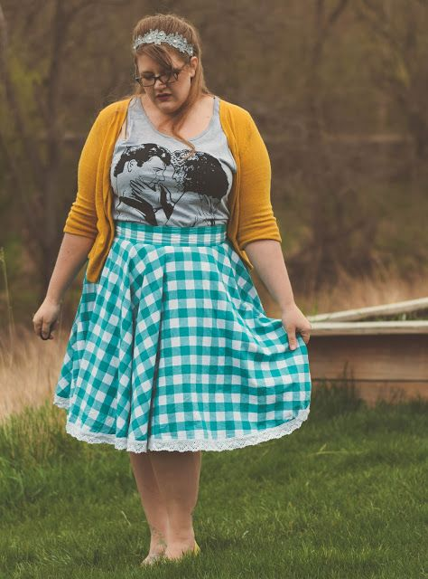 The Classy Junk: Dirty Dancing   Outfit  Quirky, vintage, feminine curvy style plus size outfit