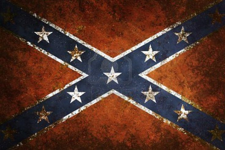 southern flag close up of confederate flag grunge