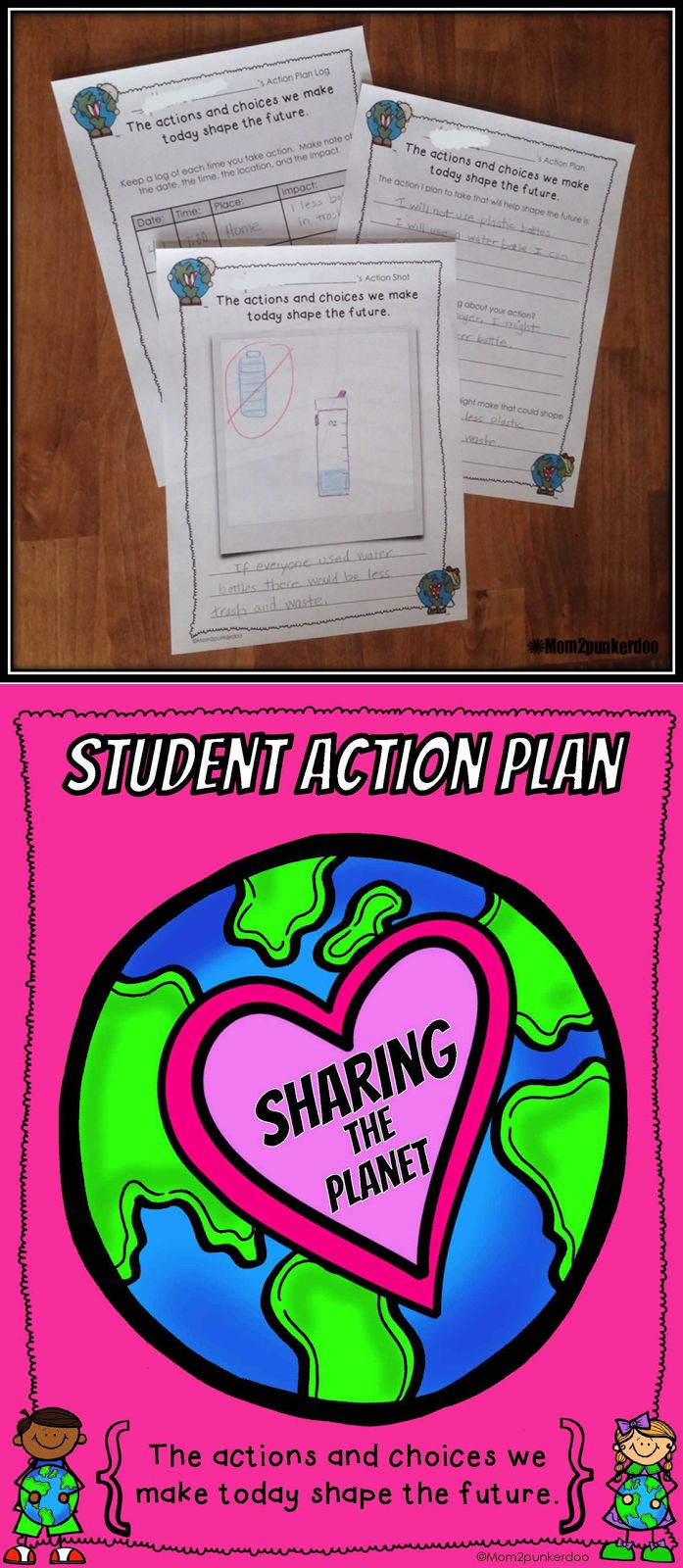 Earth Day: Sharing The Planet- lesson idea